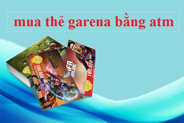 Có thể mua thẻ garena bằng atm tại banthe247.com hay không?