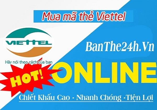 Nên mua thẻ điện thoại viettel online ở đâu ?