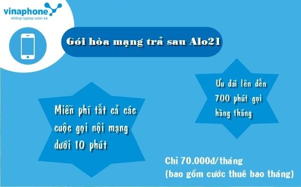 Học nhanh cách đăng kí gói ALO21 Vinaphone nhận ưu đãi