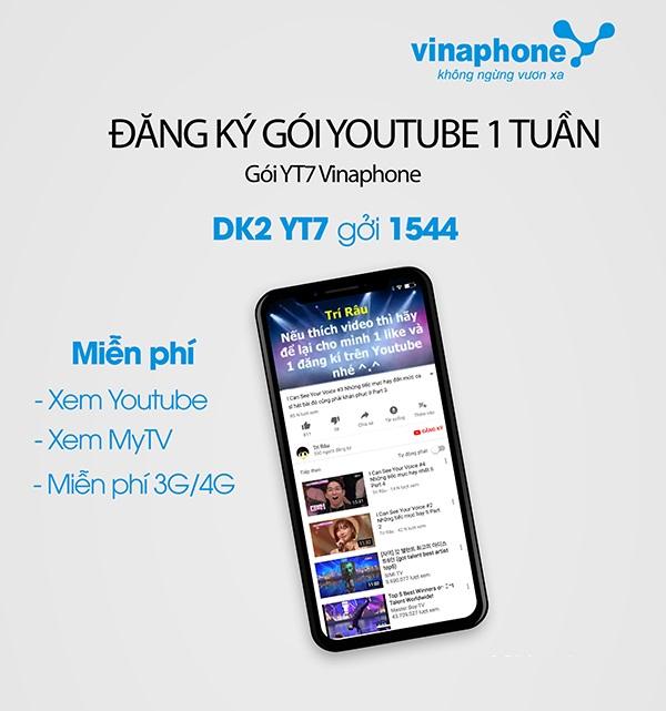 Làm sao để đăng kí gói YT7 Vinaphone hiệu quả nhất?