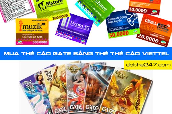 Bật mí cách đổi thẻ Viettel sang thẻ gate dễ dàng nhất