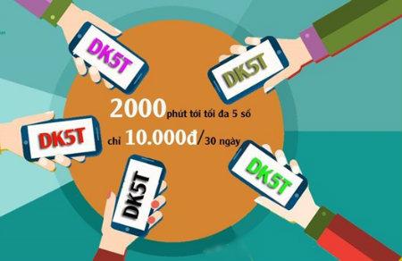 Thông tin về ưu đãi của gói cước DT5T Viettel