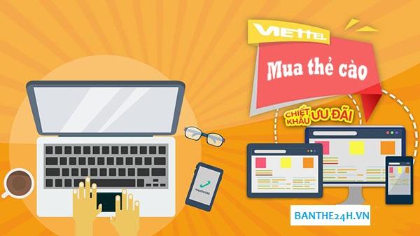 Thông tin mua the dt online nhanh nhất giá cực rẻ!