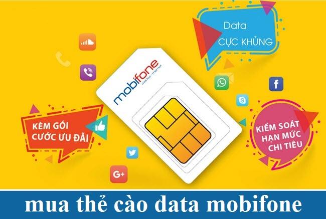 Tại sao nên mua thẻ cào data Mobifone?