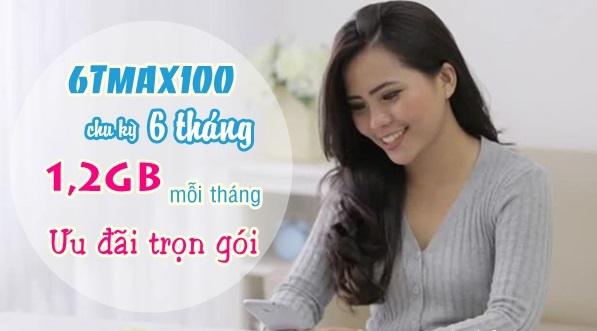 Hướng dẫn nhận ưu đãi 7,2GB data từ gói 6TMAX100 Vinaphone