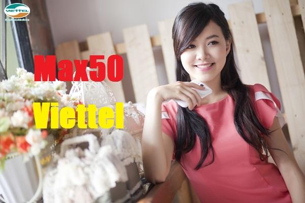 Cách mua thêm 1,2GB data từ gói Max50 Viettel