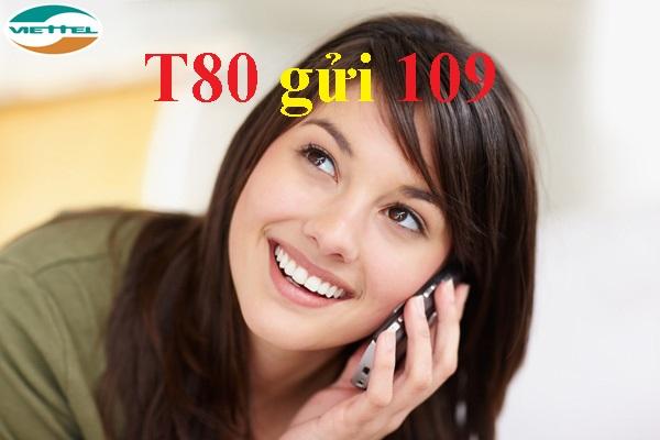 Làm sao để đăng kí gói T80 viettel chỉ 80.000 VND thành công?