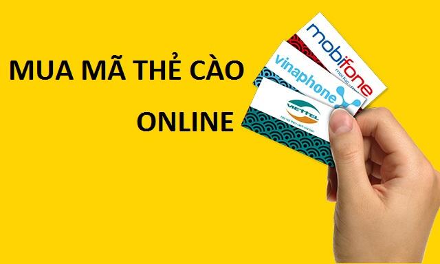 Hướng dẫn chi tiết khách hàng mua mã thẻ cào online