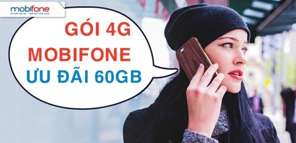 Tổng hợp các gói cước 4G Mobifone ưu đãi trên 60GB data