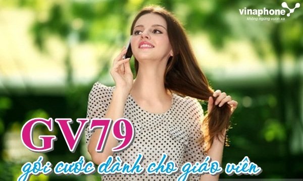 Học nhanh cách đăng kí gói GV79 Vinaphone nhận ưu đãi khủng