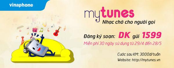 Cách đăng ký dịch vụ MyTunes Vinaphone nhanh nhất