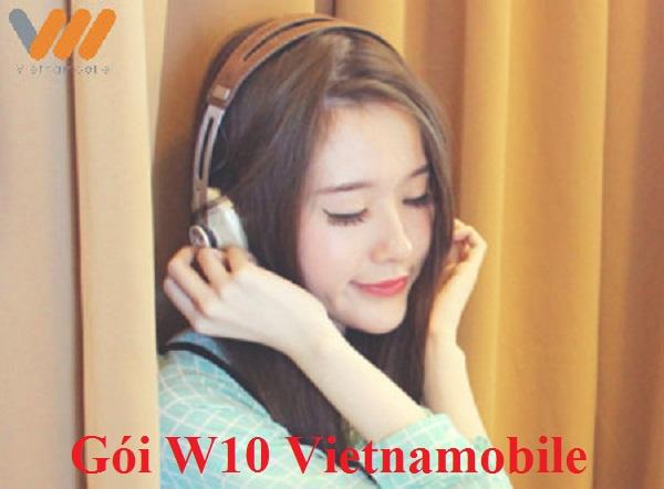 Bật mí các ưu đãi của gói cước W10 của Vietnamobile