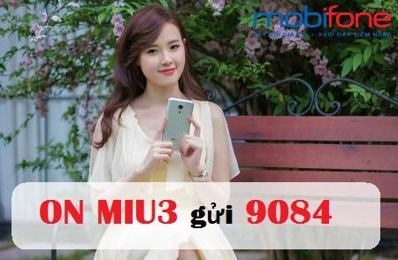 Bật mí thông tin về gói cước MIU3 Mobifone hấp dẫn hiện nay.