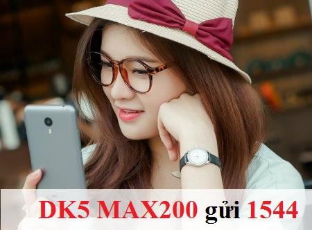 Cách đăng kí gói Max200 Vinaphone nhanh nhất qua sms như thế nào?