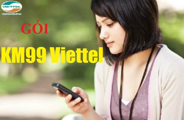 Cách nhận 500 phút gọi miễn phí từ gói cước KM99 Viettel