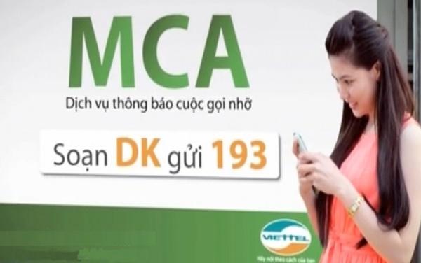 Tin tức mới nhất về dịch vụ tiện ích MCA của Viettel hiện nay.