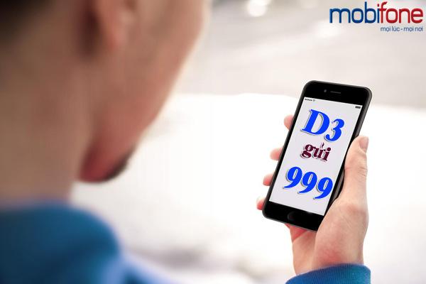 Đăng ký nhanh gói D3 mobifone chỉ có 3.000đ