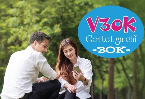 Chi tiết cách đăng ký gói cước ưu đãi V30K Vinaphone