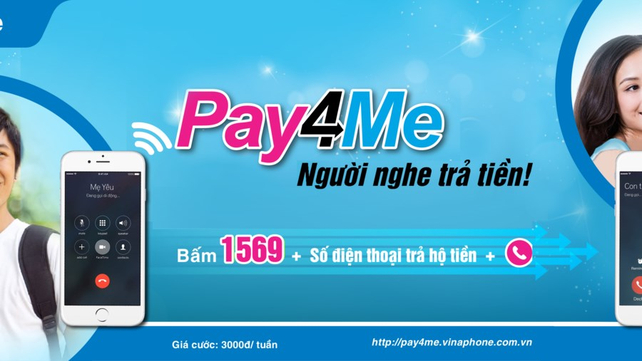 Cách đăng kí dịch vụ Pay4Me Vinaphone nhận ưu đãi lớn nhất