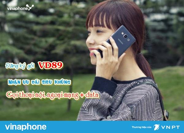 Cách đăng kí gói VD89 Vinaphone nhận ngay ưu đãi khủng nhất