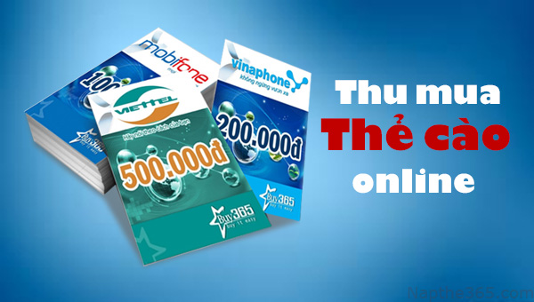 Hướng dẫn khách hàng cách mua thẻ cào online trong 1 phút