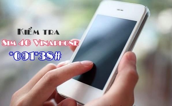 Mẹo kiểm tra sim đang dùng có phải là sim 4G Vinaphone hay không?