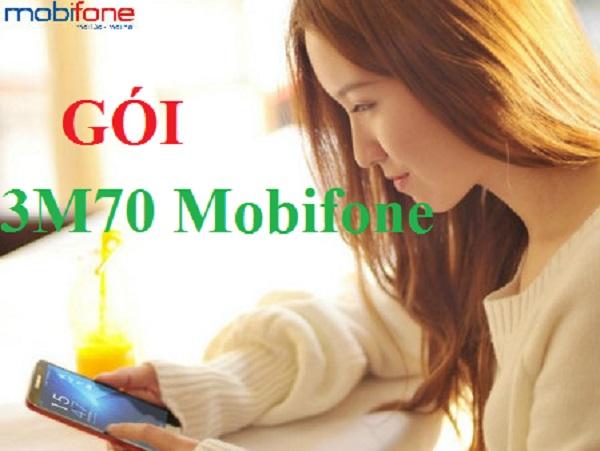 Bật mí các ưu đãi từ gói cước 3M70 Mobifone