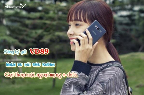 Cách nhận ưu đãi 60GB data và miễn phí gọi điện từ gói VD89 Vinaphone