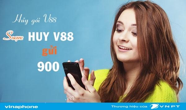 Học cách hủy gói V88 Vinaphone nhanh nhất dành cho thuê bao di động