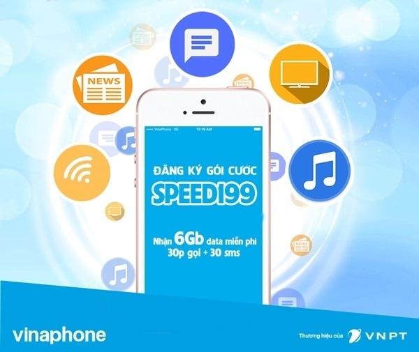 Hướng dẫn nhanh cách đăng kí gói 4G SPEED199 Vinaphone
