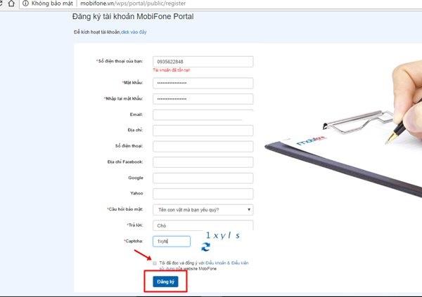 Những ưu đãi hấp dẫn nhận được khi đăng kí tài khoản Mobifone Portal