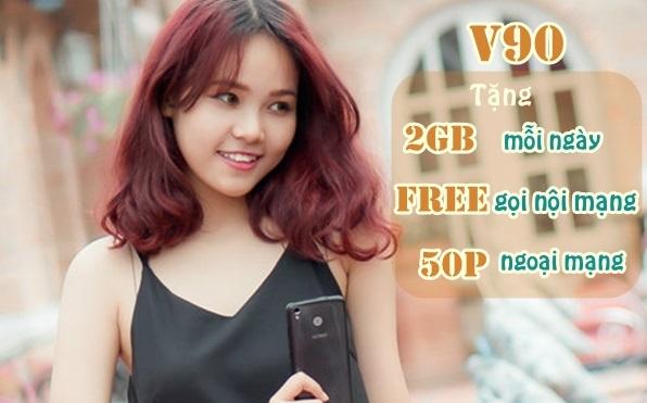 Cách nhận ưu đãi 60Gb data và gọi không giới hạn từ gói V90 Viettel