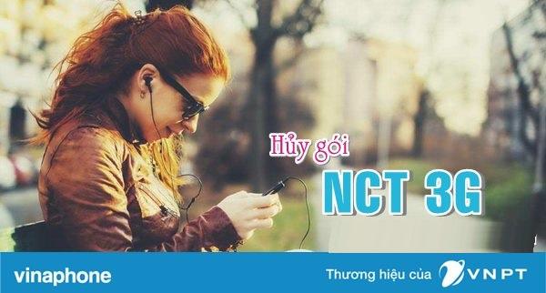 Hướng dẫn nhanh cách hủy gói NCT 3G Vinaphone chỉ với vài thao tác