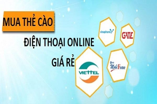 Hướng dẫn mua thẻ điện thoại online giá rẻ