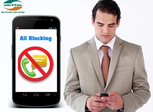 Cú pháp đăng ký dịch vụ chặn cuộc gọi AllBlocking Viettel