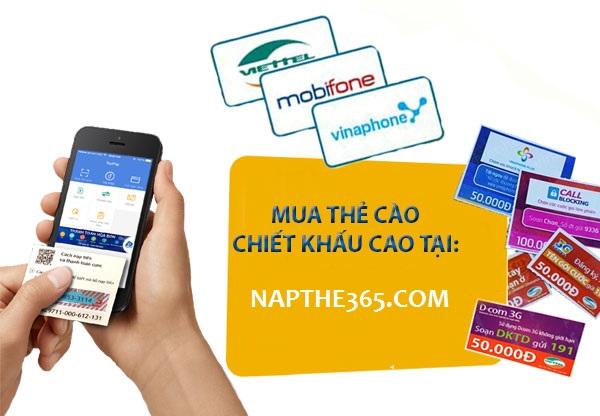 """Mua thẻ cào điện thoại giá rẻ - tiết kiệm """"khủng"""" cho hầu bao!"""