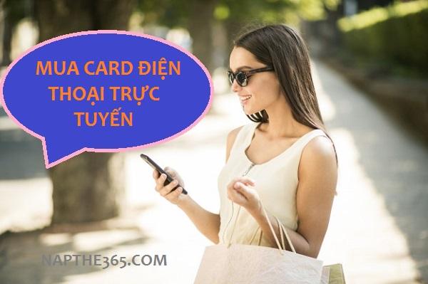 Mua card điện thoại trực tuyến kinh doanh thẻ cào tại sao không?