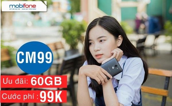 Bật mí cách nhận ưu đãi 60Gb data từ gói cước CM99 Mobifone
