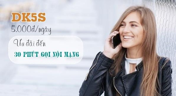 Cách nhận ưu đãi 30 phút gọi miễn phí từ gói DK5S Viettel