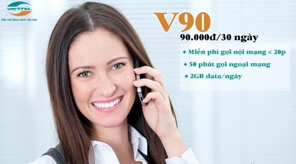 Làm sao để đăng ký lại gói cước V90 Viettel sau khi đã hủy?