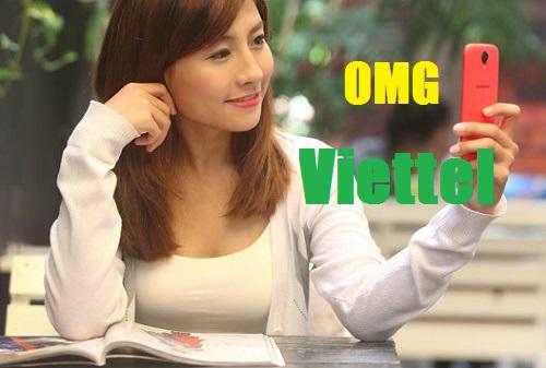 Mẹo nhận 6Gb data và miễn phí sử dụng mocha từ gói OMG Viettel