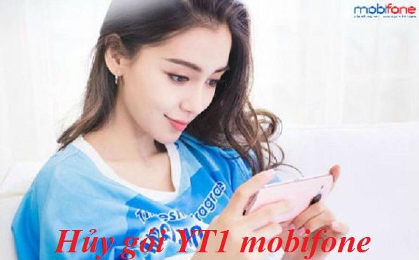 Bật mí 2 cách hủy gói cước YT1 Mobifone qua tin nhắn