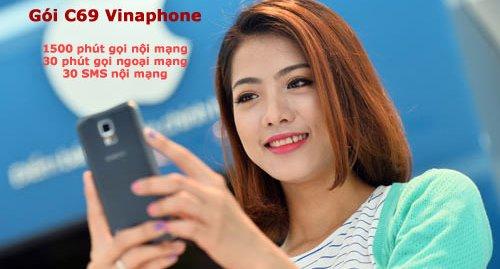 Miễn phí 1.500 phút gọi từ gói cước C69 Vinaphone