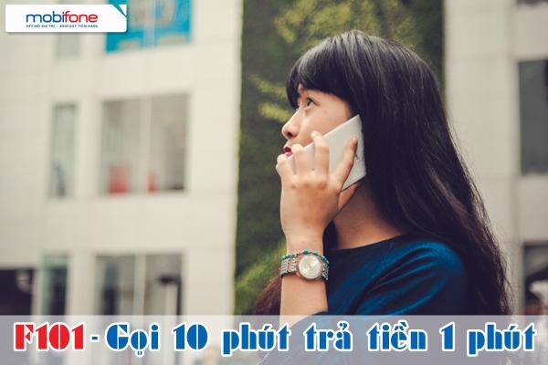 Đăng ký gói cước khuyến mãi F101Mobifone