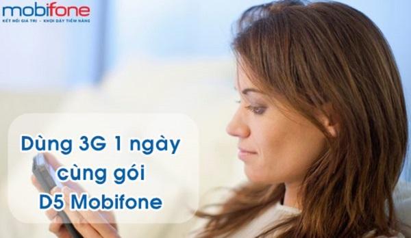 Chi tiết cách đăng ký gói cước D5 Mobifone