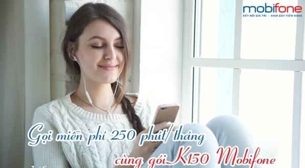 Cách nhận ưu đãi gọi thoại miễn phí từ gói K150 Mobifone