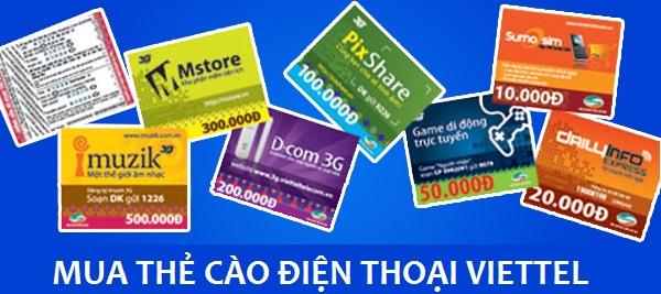 [Lựa chọn] Mua thẻ cào điện thoại Viettel online hay truyền thống?
