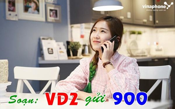 Đăng ký nhanh gói VD2 vinaphone chỉ với một cú pháp đơn giản