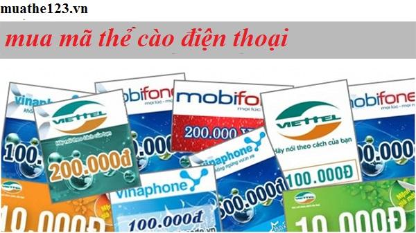 Bật mí các cách mua mã thẻ cào điện thoại tại muathe123.vn