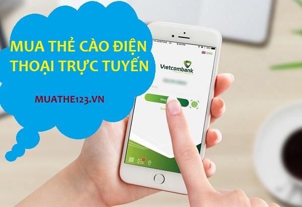 Hướng dẫn mua thẻ cào điện thoại trực tuyến qua Vietcombank